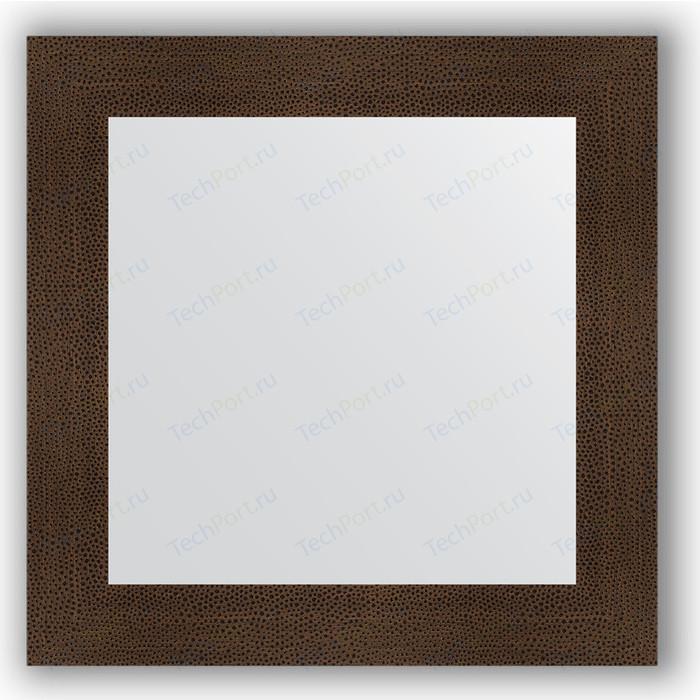 Зеркало в багетной раме Evoform Definite 70x70 см, бронзовая лава 90 мм (BY 3152)