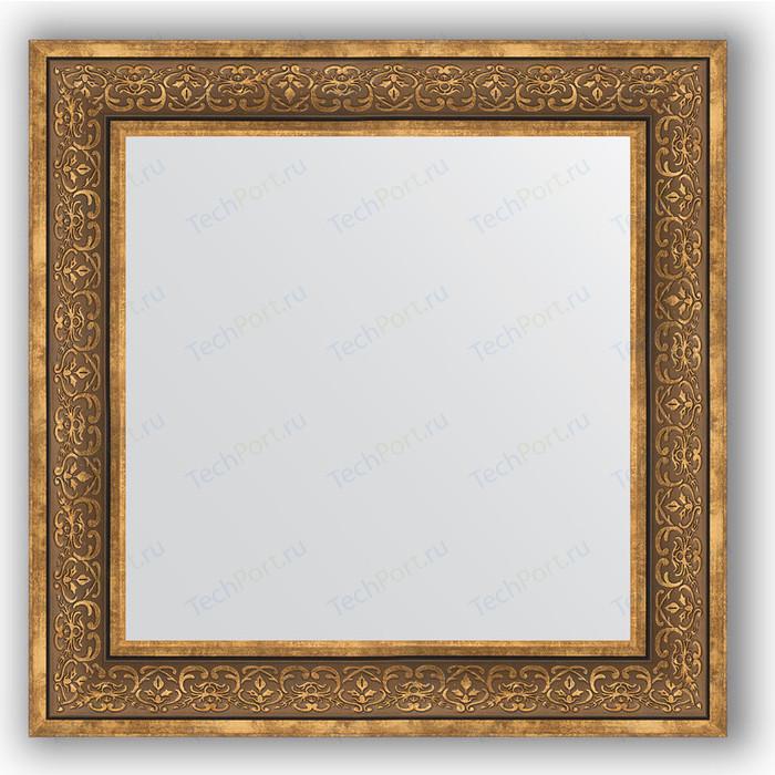 Зеркало в багетной раме Evoform Definite 73x73 см, вензель бронзовый 101 мм (BY 3159) зеркало в багетной раме evoform definite 73x73 см слоновая кость 51 мм by 1025
