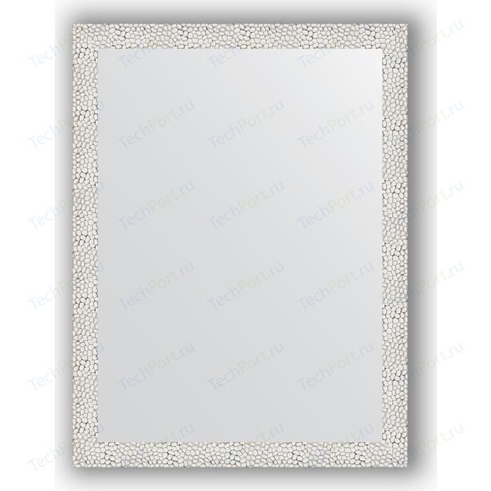 Зеркало в багетной раме поворотное Evoform Definite 61x81 см, чеканка белая 46 мм (BY 3162)
