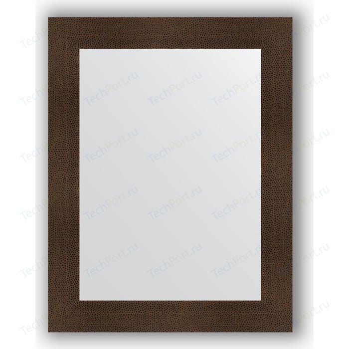 Фото - Зеркало в багетной раме поворотное Evoform Definite 70x90 см, бронзовая лава 90 мм (BY 3184) зеркало evoform definite floor 201х81 бронзовая лава
