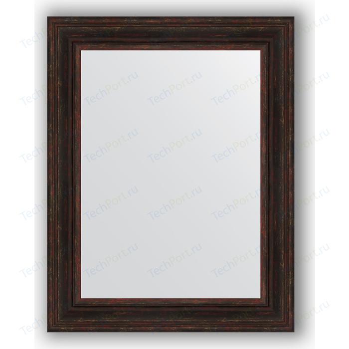 Зеркало в багетной раме поворотное Evoform Definite 72x92 см, темный прованс 99 мм (BY 3190)