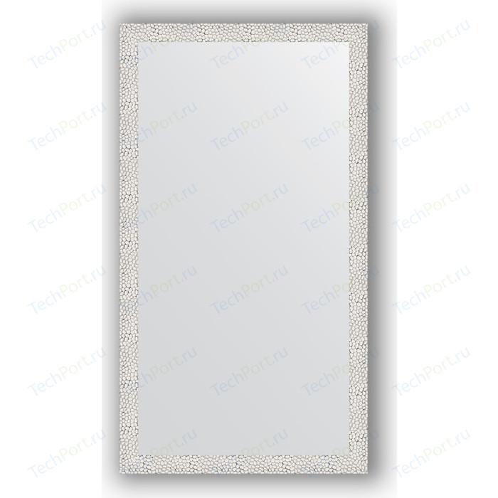 Зеркало в багетной раме поворотное Evoform Definite 61x111 см, чеканка белая 46 мм (BY 3194)
