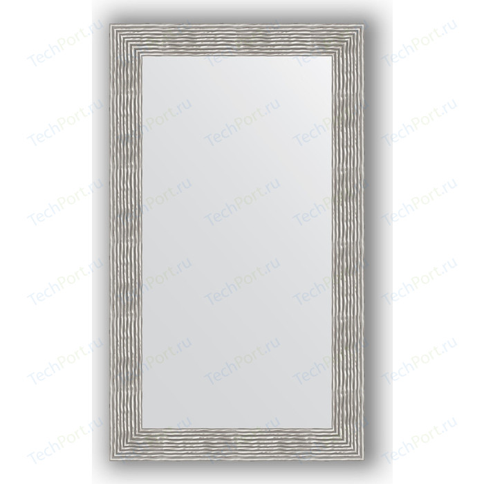 Зеркало в багетной раме поворотное Evoform Definite 70x120 см, волна хром 90 мм (BY 3217)