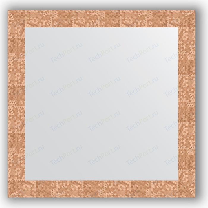 Фото - Зеркало в багетной раме Evoform Definite 76x76 см, соты медь 70 мм (BY 3242) зеркало в багетной раме поворотное evoform definite 56x76 см соты медь 70 мм by 3050