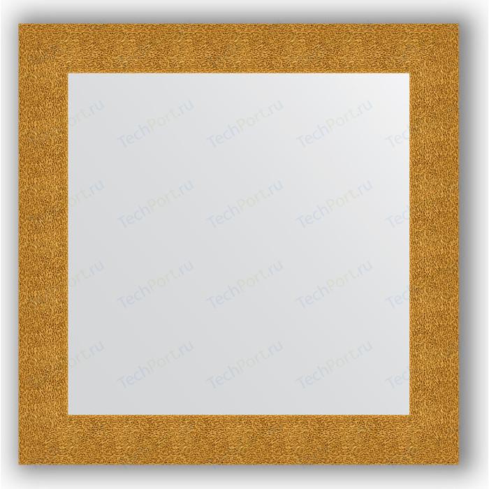 Зеркало в багетной раме Evoform Definite 80x80 см, чеканка золотая 90 мм (BY 3246)