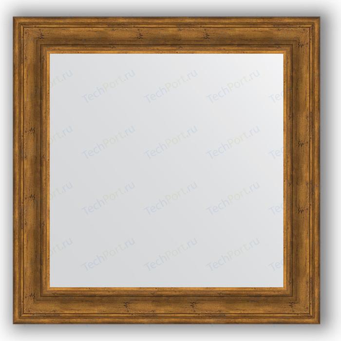 Зеркало в багетной раме Evoform Definite 82x82 см, травленая бронза 99 мм (BY 3253)