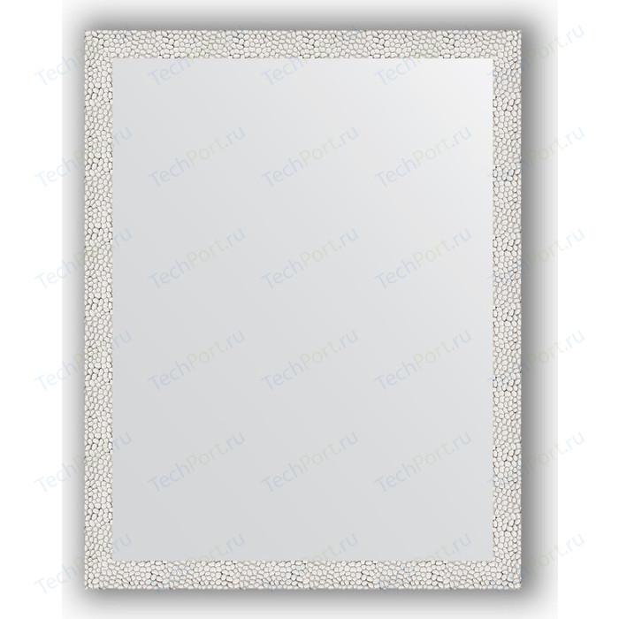Зеркало в багетной раме поворотное Evoform Definite 71x91 см, чеканка белая 46 мм (BY 3258)