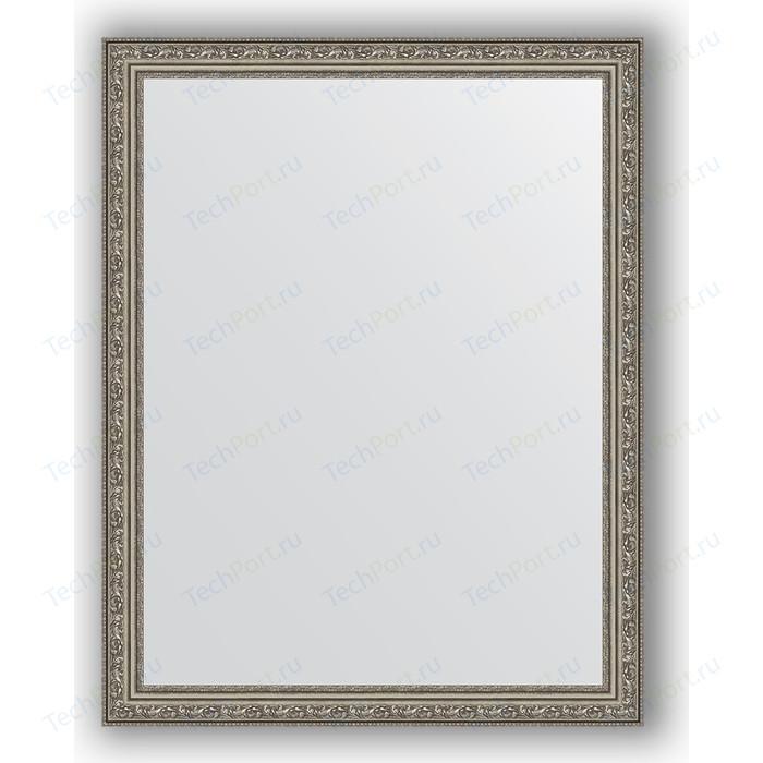 Зеркало в багетной раме поворотное Evoform Definite 74x94 см, виньетка состаренное серебро 56 мм (BY 3264) зеркало в багетной раме поворотное evoform definite 73x93 см слоновая кость 51 мм by 1040