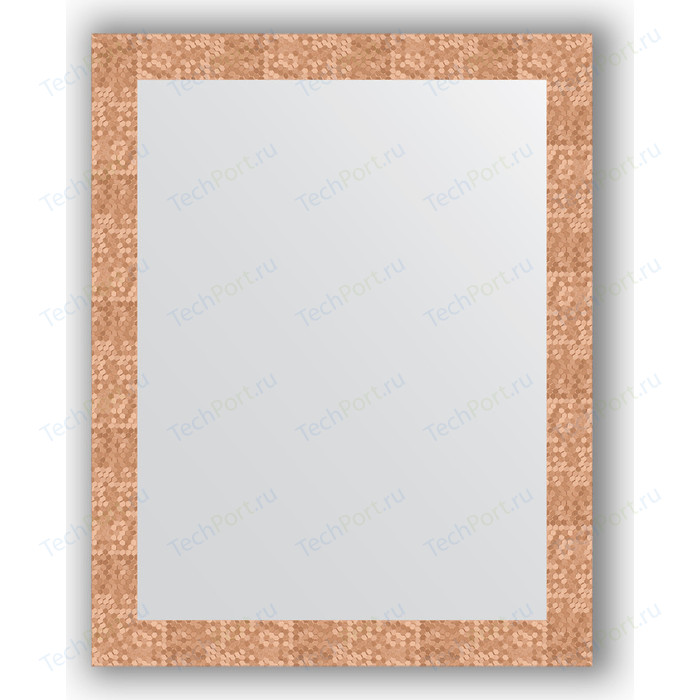 Фото - Зеркало в багетной раме поворотное Evoform Definite 76x96 см, соты медь 70 мм (BY 3274) зеркало в багетной раме поворотное evoform definite 56x76 см соты медь 70 мм by 3050