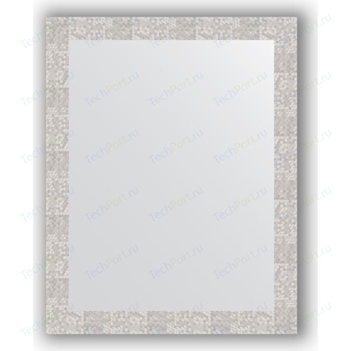 Зеркало в багетной раме поворотное Evoform Definite 76x96 см, соты алюминий 70 мм (BY 3275)
