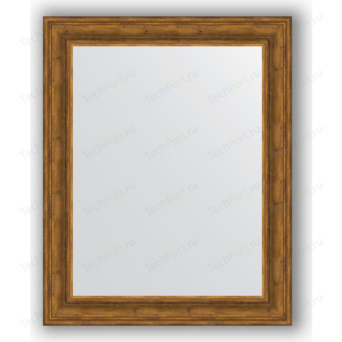 Фото - Зеркало в багетной раме поворотное Evoform Definite 82x102 см, травленая бронза 99 мм (BY 3285) зеркало в багетной раме поворотное evoform definite 82x102 см травленое серебро 99 мм by 3284