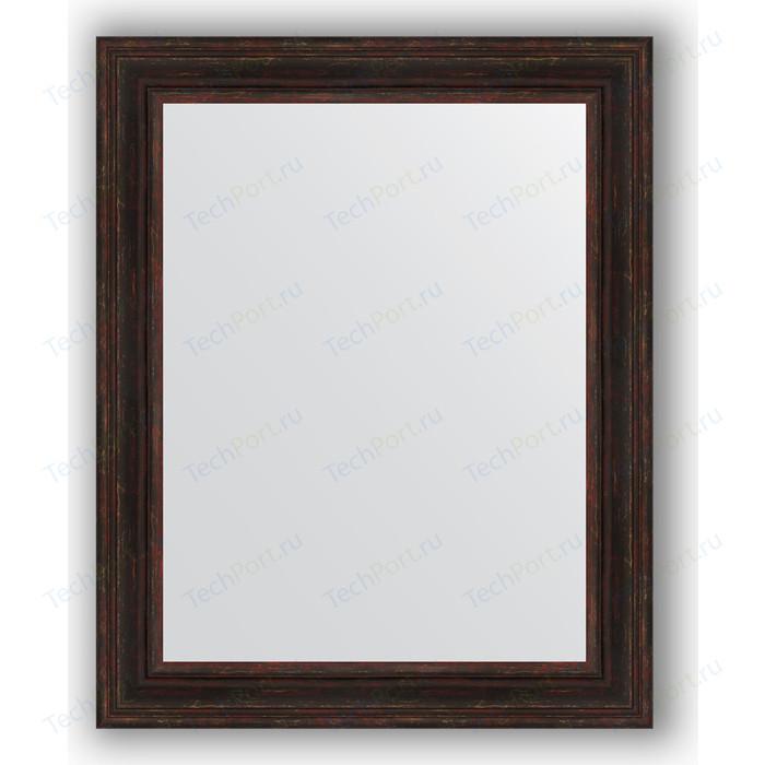 Фото - Зеркало в багетной раме поворотное Evoform Definite 82x102 см, темный прованс 99 мм (BY 3286) зеркало в багетной раме поворотное evoform definite 82x102 см травленое серебро 99 мм by 3284