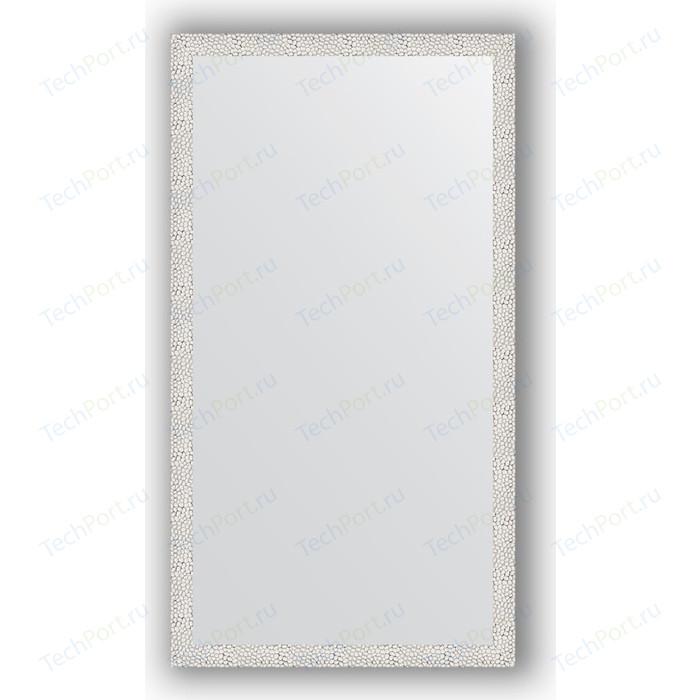 Зеркало в багетной раме поворотное Evoform Definite 71x131 см, чеканка белая 46 мм (BY 3290)