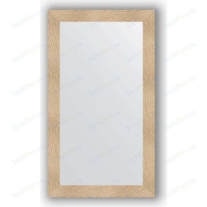 Зеркало в багетной раме поворотное Evoform Definite 80x140 см, золотые дюны 90 мм (BY 3309)