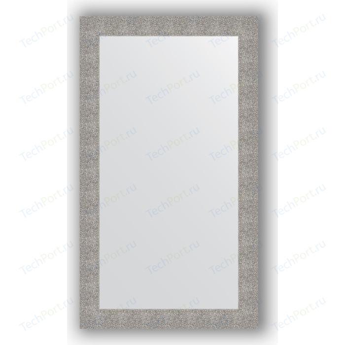 Зеркало в багетной раме поворотное Evoform Definite 80x140 см, чеканка серебряная 90 мм (BY 3311)