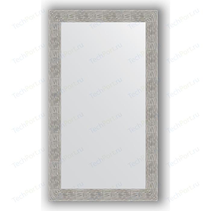 Зеркало в багетной раме поворотное Evoform Definite 80x140 см, волна хром 90 мм (BY 3313)