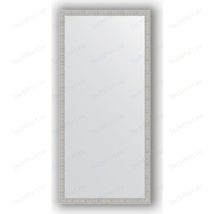 Зеркало в багетной раме поворотное Evoform Definite 71x151 см, волна алюминий 46 мм (BY 3326) зеркало в багетной раме поворотное evoform definite 51x141 см волна алюминий 46 мм by 3102