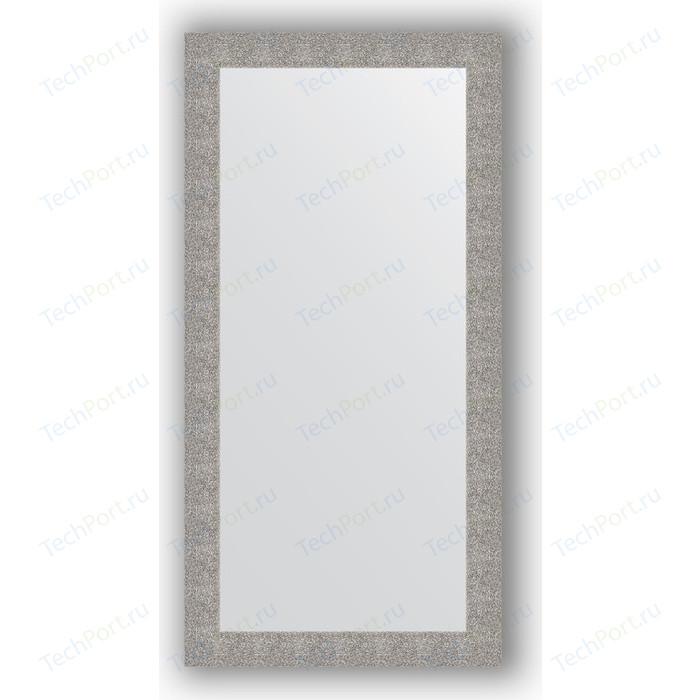 Фото - Зеркало в багетной раме поворотное Evoform Definite 80x160 см, чеканка серебряная 90 мм (BY 3343) зеркало 70х70 см чеканка серебряная evoform definite by 3151