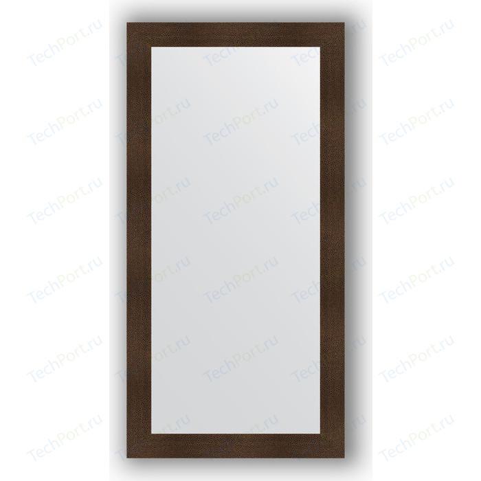 Зеркало в багетной раме поворотное Evoform Definite 80x160 см, бронзовая лава 90 мм (BY 3344)