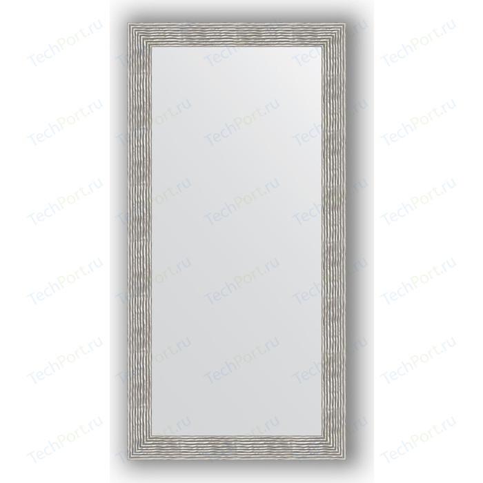 Фото - Зеркало в багетной раме поворотное Evoform Definite 80x160 см, волна хром 90 мм (BY 3345) зеркало в багетной раме поворотное evoform definite 51x101 см волна алюминий 46 мм by 3070