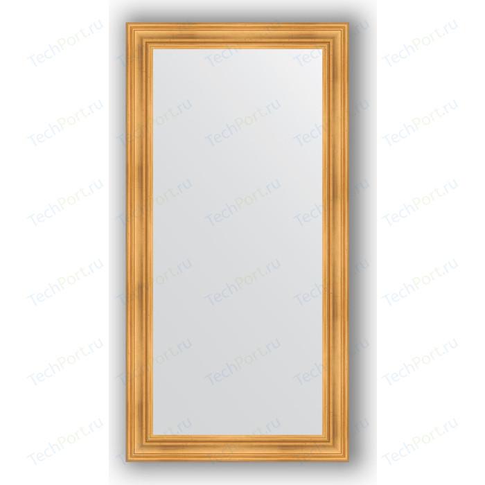 Зеркало в багетной раме поворотное Evoform Definite 82x162 см, травленое золото 99 мм (BY 3347)