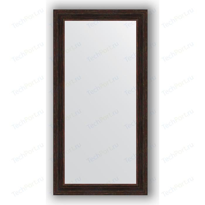 Зеркало в багетной раме поворотное Evoform Definite 82x162 см, темный прованс 99 мм (BY 3350)