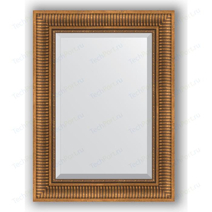 Фото - Зеркало с фацетом в багетной раме поворотное Evoform Exclusive 57x77 см, бронзовый акведук 93 мм (BY 3388) зеркало с фацетом в багетной раме поворотное evoform exclusive 57x77 см бронзовый акведук 93 мм by 3388