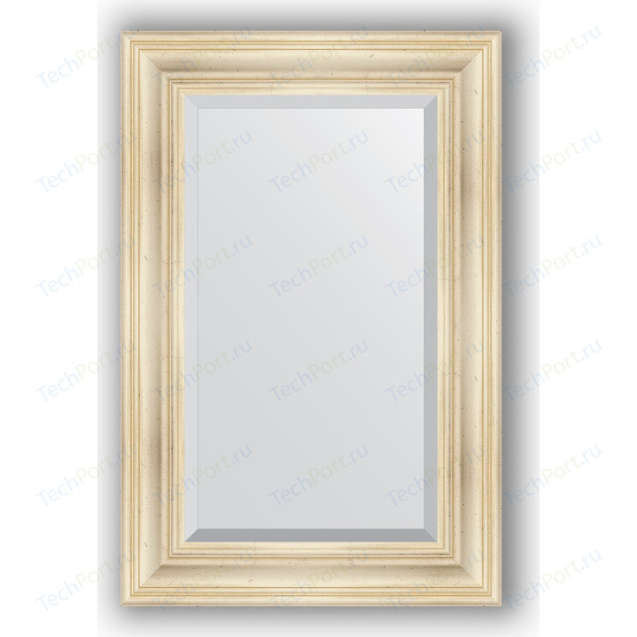 Зеркало с фацетом в багетной раме поворотное Evoform Exclusive 59x89 см, травленое серебро 99 мм (BY 3419)