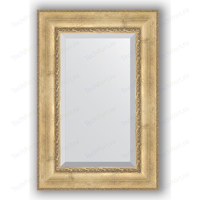 Зеркало с фацетом в багетной раме поворотное Evoform Exclusive 62x92 см, состаренное серебро с орнаментом 120 мм (BY 3428) зеркало с фацетом в багетной раме поворотное evoform exclusive 62x92 см состаренное дерево с орнаментом 120 мм by 3430