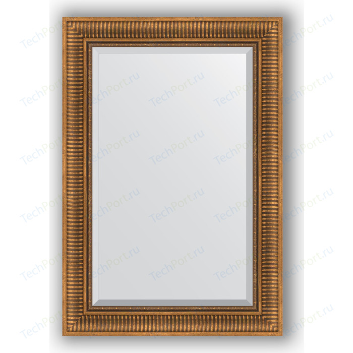 Фото - Зеркало с фацетом в багетной раме поворотное Evoform Exclusive 67x97 см, бронзовый акведук 93 мм (BY 3440) зеркало с фацетом в багетной раме поворотное evoform exclusive 57x77 см бронзовый акведук 93 мм by 3388