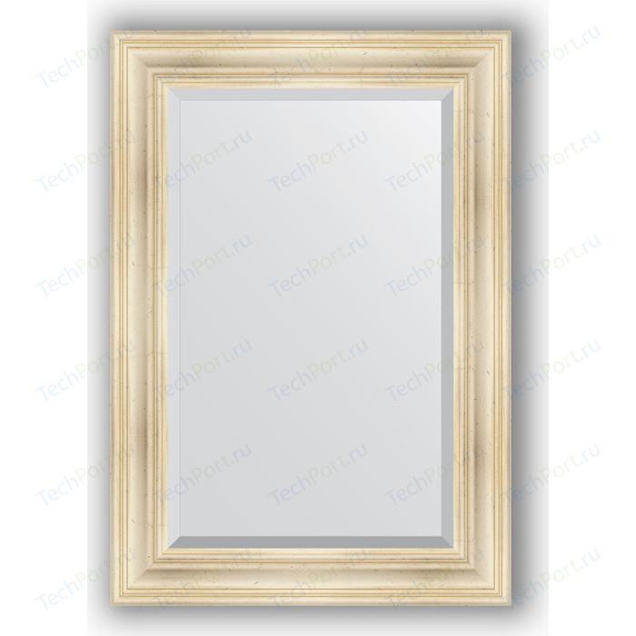 Зеркало с фацетом в багетной раме поворотное Evoform Exclusive 69x99 см, травленое серебро 99 мм (BY 3445)