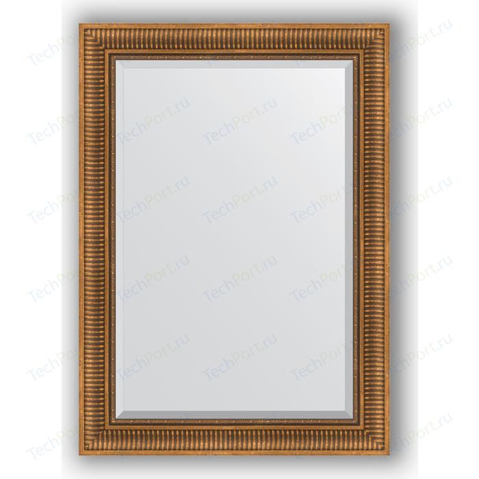 Фото - Зеркало с фацетом в багетной раме поворотное Evoform Exclusive 77x107 см, бронзовый акведук 93 мм (BY 3466) зеркало с фацетом в багетной раме поворотное evoform exclusive 57x77 см бронзовый акведук 93 мм by 3388