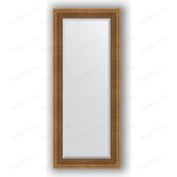Фото - Зеркало с фацетом в багетной раме поворотное Evoform Exclusive 62x147 см, бронзовый акведук 93 мм (BY 3544) зеркало с фацетом в багетной раме поворотное evoform exclusive 57x77 см бронзовый акведук 93 мм by 3388