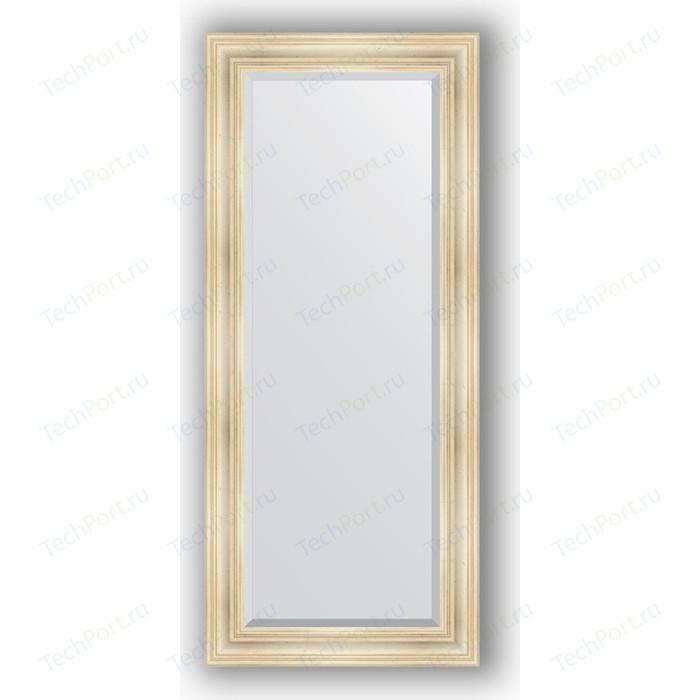 Зеркало с фацетом в багетной раме поворотное Evoform Exclusive 69x159 см, травленое серебро 99 мм (BY 3575)