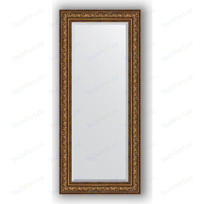 Зеркало с фацетом в багетной раме поворотное Evoform Exclusive 70x160 см, виньетка состаренная бронза 109 мм (BY 3583)