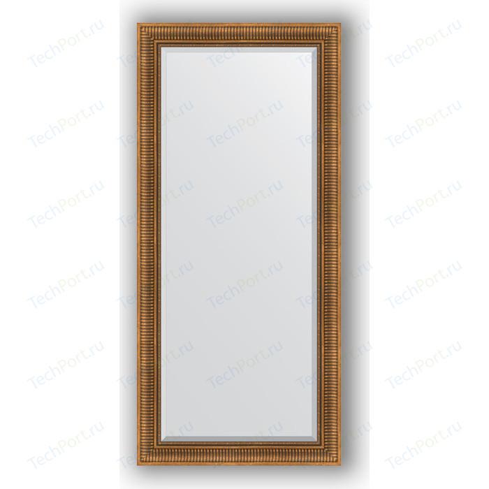 Фото - Зеркало с фацетом в багетной раме поворотное Evoform Exclusive 77x167 см, бронзовый акведук 93 мм (BY 3596) зеркало с фацетом в багетной раме поворотное evoform exclusive 57x77 см бронзовый акведук 93 мм by 3388