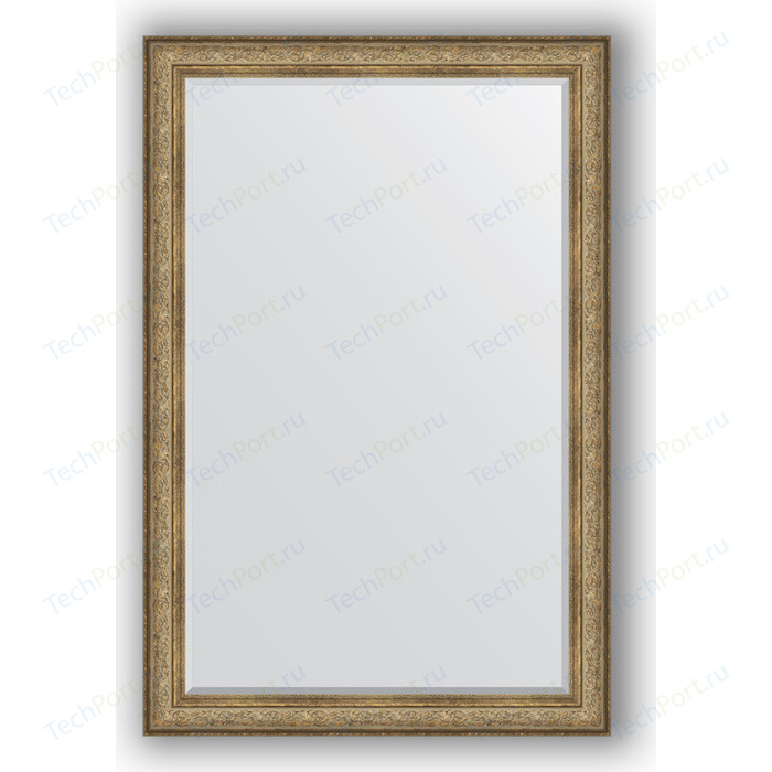 Зеркало с фацетом в багетной раме поворотное Evoform Exclusive 120x180 см, виньетка античная бронза 109 мм (BY 3633)