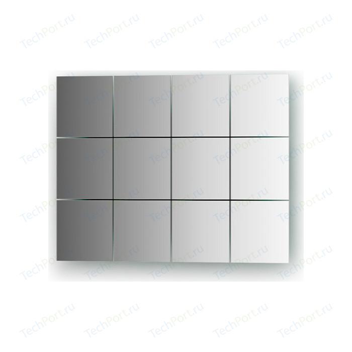 Зеркальная плитка Evoform Refractive со шлифованной кромкой 10 х см, комплект 12 шт. (BY 1402)