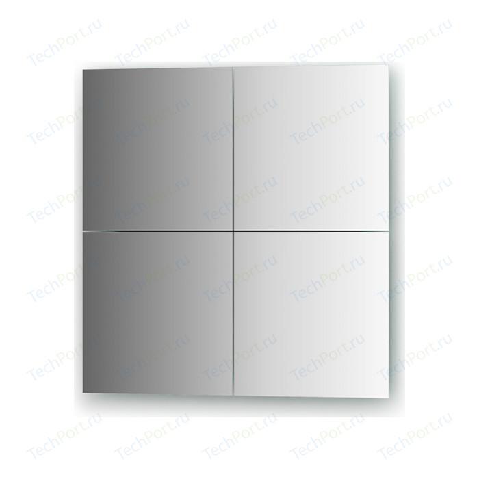 Зеркальная плитка Evoform Refractive со шлифованной кромкой 25 х см, комплект 4 шт. (BY 1408)