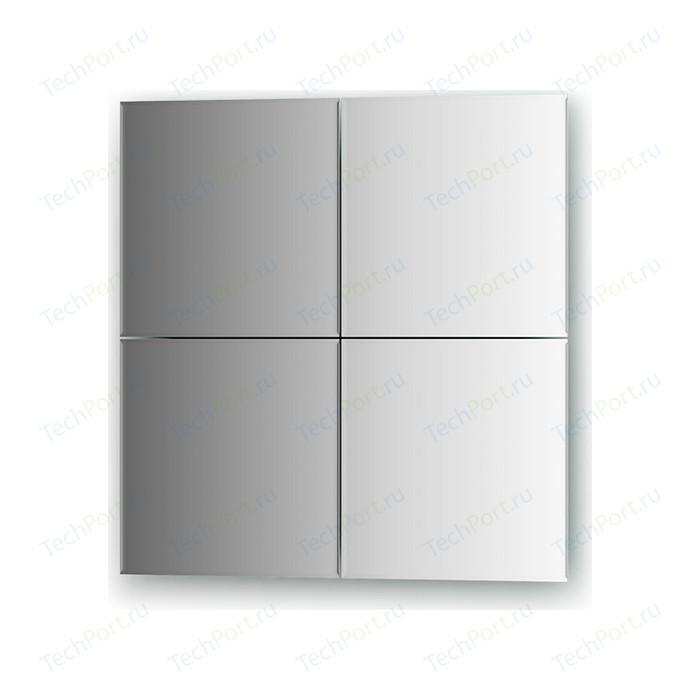 Зеркальная плитка Evoform Refractive с фацетом 5 мм, 25 х см, комплект 4 шт. (BY 1428)