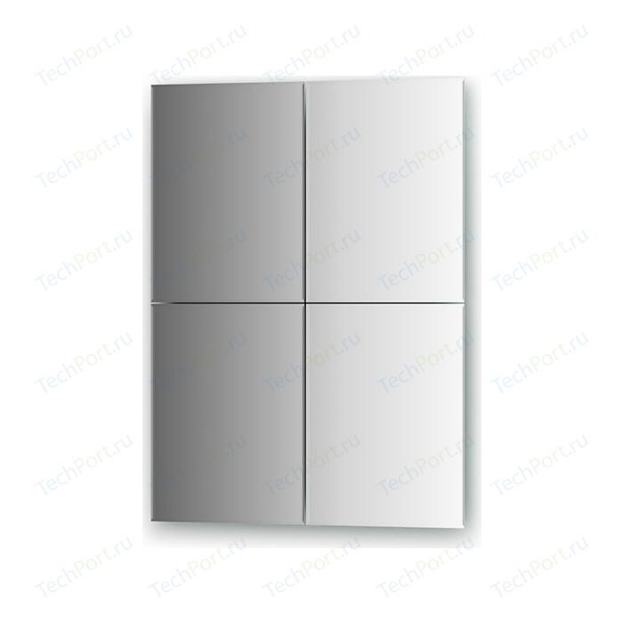 Зеркальная плитка Evoform Refractive с фацетом 5 мм, 25 х 33 см, комплект 4 шт. (BY 1443)