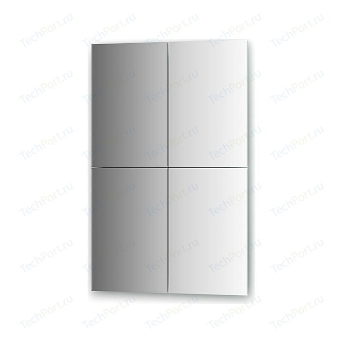 Зеркальная плитка Evoform Refractive с фацетом 5 мм, 30 х 45 см, комплект 4 шт. (BY 1446)