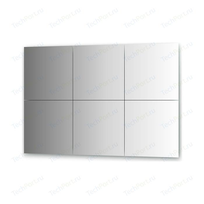 Зеркальная плитка Evoform Reflective с фацетом 10 мм, 40 х см, комплект 6 шт. (BY 1509)
