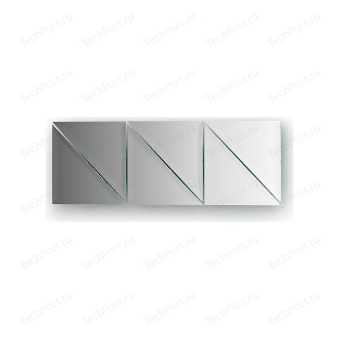 Зеркальная плитка Evoform Reflective с фацетом 10 мм, 15 х см, комплект 6 шт. (BY 1513)