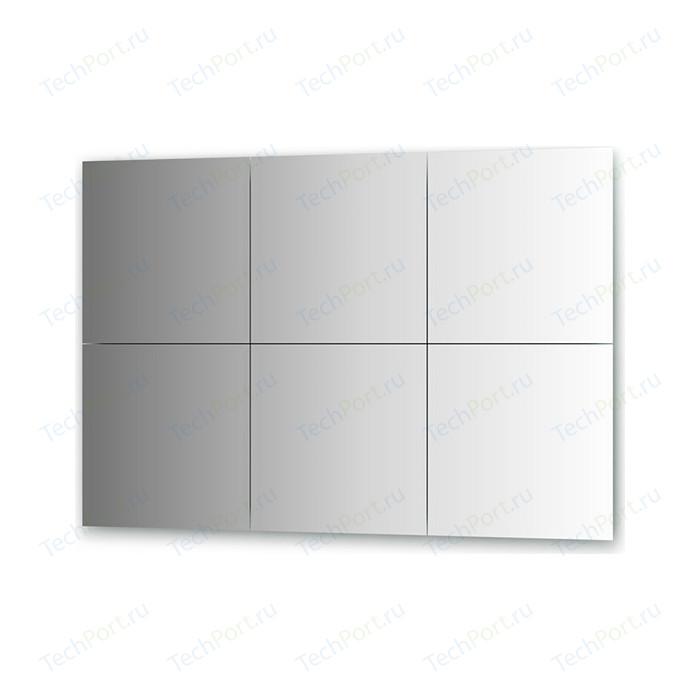Зеркальная плитка Evoform Reflective с фацетом 15 мм, 40 х см, комплект 6 шт. (BY 1533)