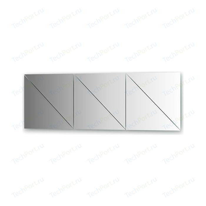Зеркальная плитка Evoform Reflective с фацетом 15 мм, 40 х см, комплект 6 шт. (BY 1545)