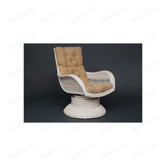 Кресло-качалка TetChair Andrea Relax Medium с подушкой, TCH White