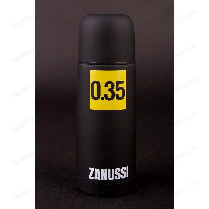 Термос черный 0.35 л Zanussi Cervinia (ZVF11221DF) классический термос zanussi cervinia 1 л черный