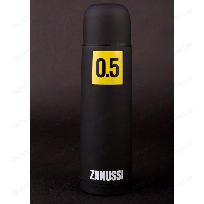 Термос черный 0.5 л Zanussi Cervinia (ZVF21221DF) классический термос zanussi cervinia 1 л черный