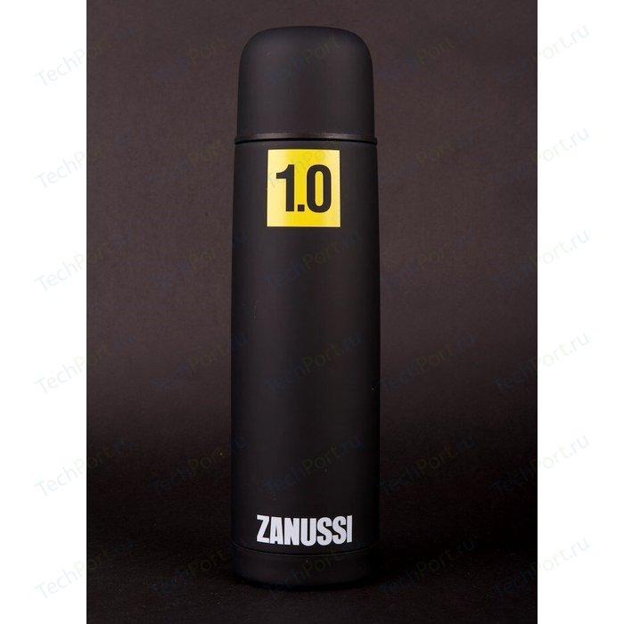 Термос черный 1.0 л Zanussi Cervinia (ZVF51221DF) классический термос zanussi cervinia 1 л черный